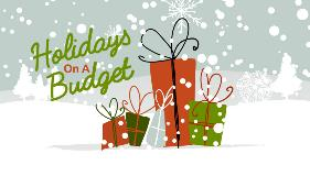 Holidays Packages and snow flakes